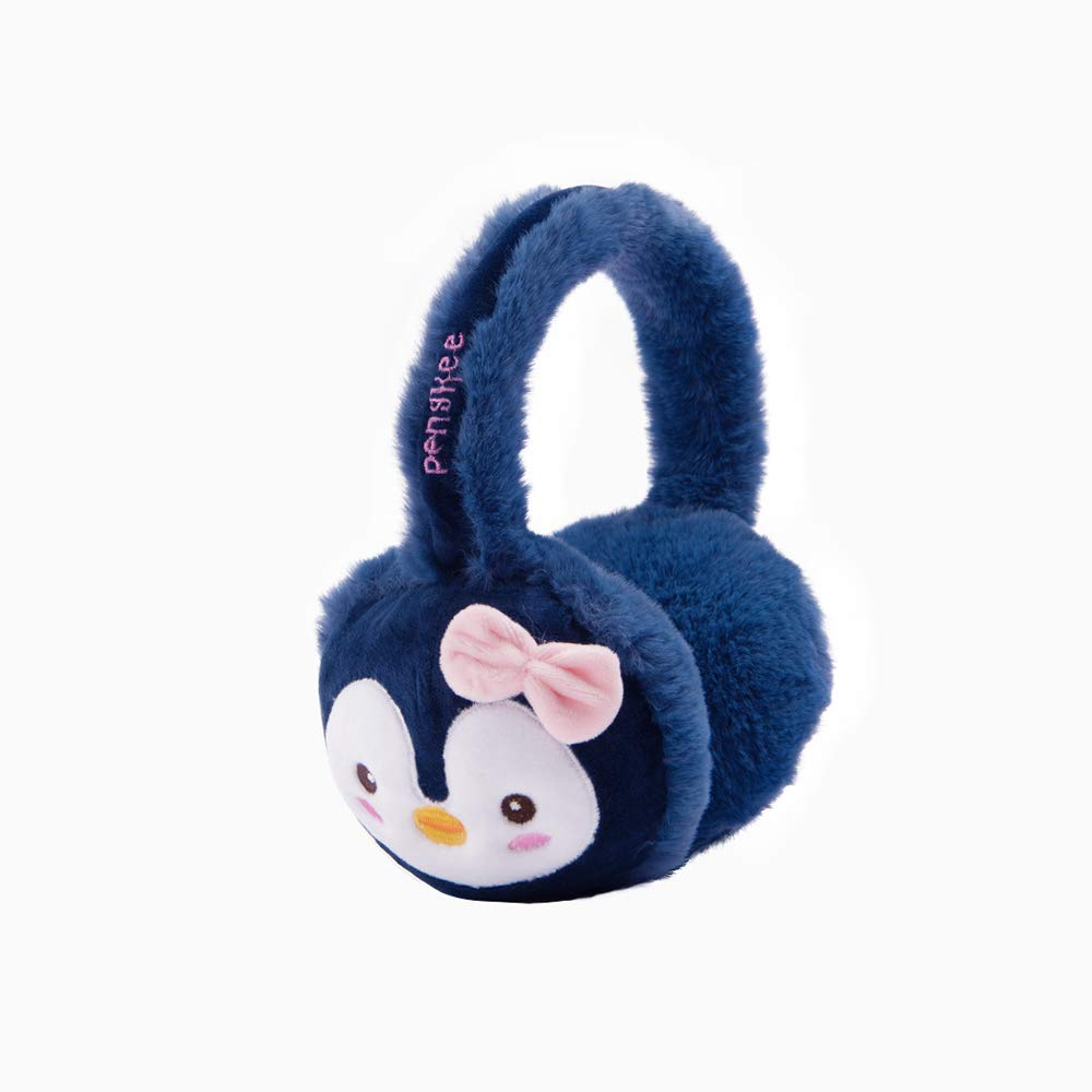 YQQ Cute Penguin Earmuffs Student Ear Bag Warm Earmuffs Female Earmuffs Winter Ear Warmer Ear Protection (Color : Khaki)