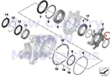 BMW Genuine Motorcycle Gear Bearing Lock Ring 62X2 R nine T R1200GS R1200GS Adventure HP2 Enduro HP2 Megamoto R1200RT R900RT R1200R R1200ST HP2 Sport R1200S K1200S K1300S K1200R K1200R Sport K1300R K