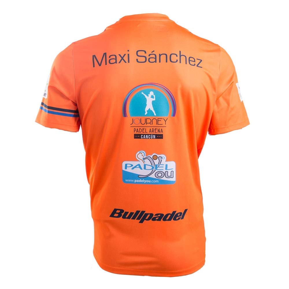 Camiseta BullPadel Trebu Maxi Sanchez (L): Amazon.es ...