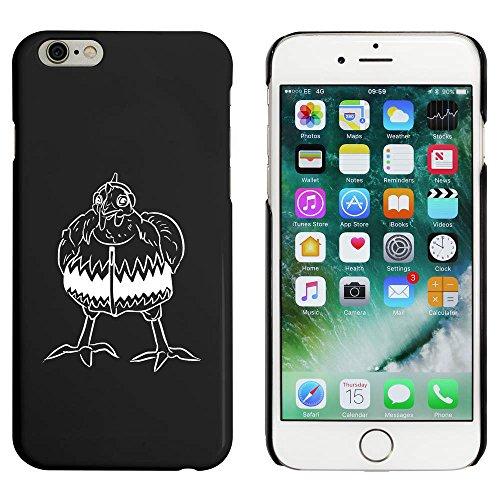 Schwarz 'Huhn mit Kleidern' Hülle für iPhone 6 u. 6s (MC00025277)