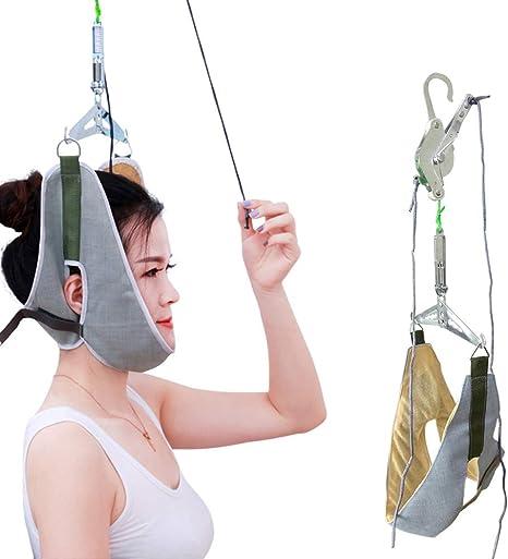 Kit Cervical Dispositivo Tracción, para Aliviar El Dolor Cuello ...