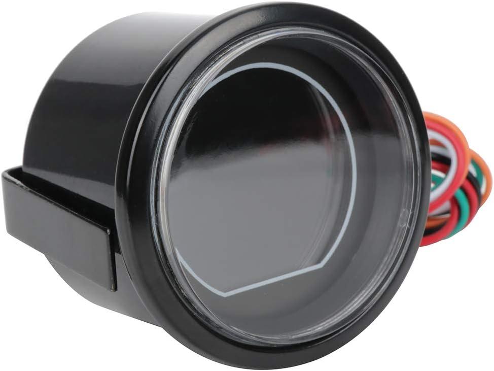 ECCPP Oil Pressure Gauge LED Electronic Universal Oil Press Gauge Meter 2 52mm Digital 0-150 PSI for Car Vehicle Automotive Oil Press Sensor
