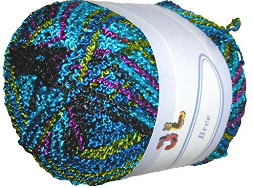 Polyester Yarn Boucle (3 balls Bree Boucle Yarn 701 …)
