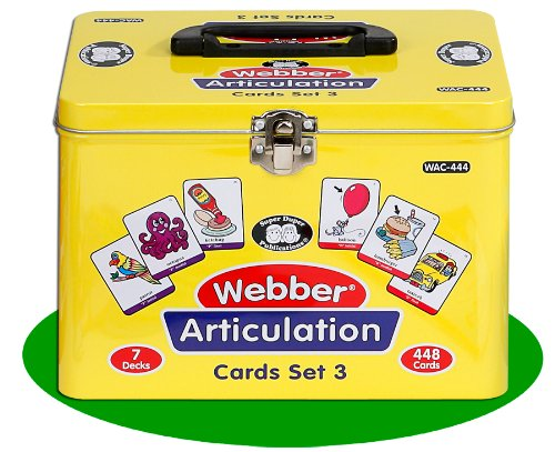 Super Duper Publications Set of 7 Webber Articulation Card Decks with Animal Artic Pairs (Combo Set 3) Educational Learning Resource for Children by Super Duper Publications (Image #9)