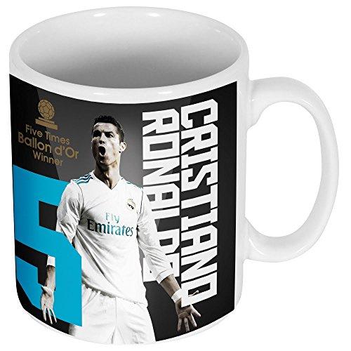 Retake Ronaldo 5x Ballon d' Or tazza