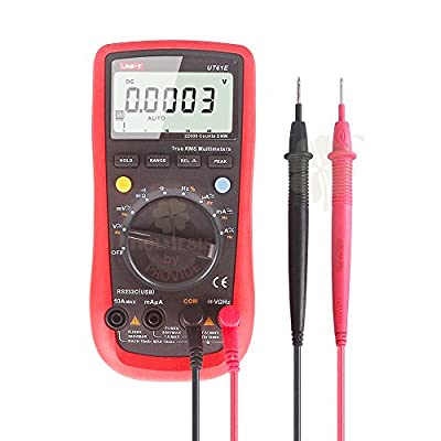 Uni-t Ut61E 22000 Count High Accuracy True Rms Digital Auto Ranging Multimeters AC/DC Voltage Current Tester with Capacitance,Resistance and Frequency Check