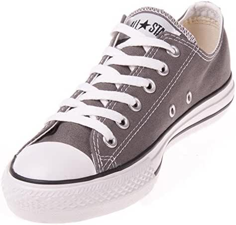 Converse Unisex Chuck Taylor All Star Ox Sneakers Navy M9697 (10.5 B(M) US Women / 8.5 D(M) US Men, Charcoal)