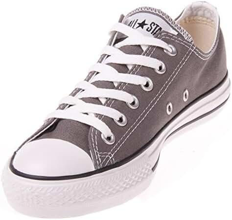 Converse Unisex Chuck Taylor All Star Ox Sneakers Navy M9697 (10.5 B(M) US Women / 8.5 D(M) US Men, Charcoal)