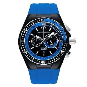 Technomarine Cruise Sport - Reloj de caballero de cuarzo, correa de caucho color negro