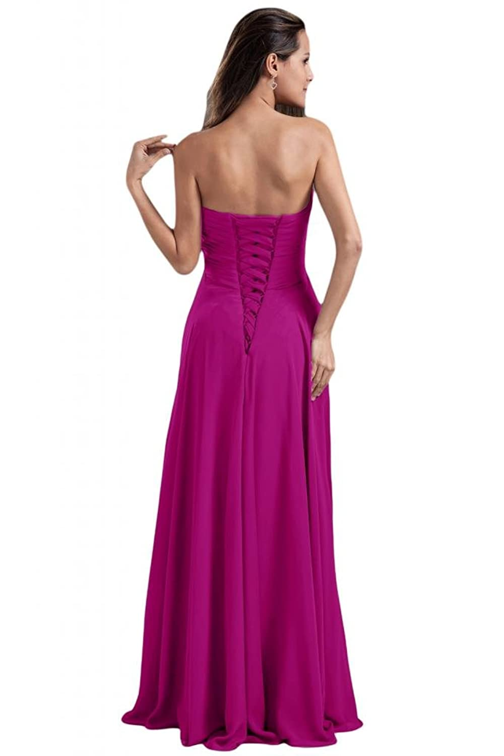 Sunvary Vintage Stretch Satin A Line Prom Pageant Dresses for Women New Stylish