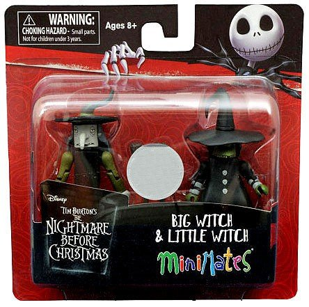 Minimates Nightmare Before Christmas Big & Little Witch