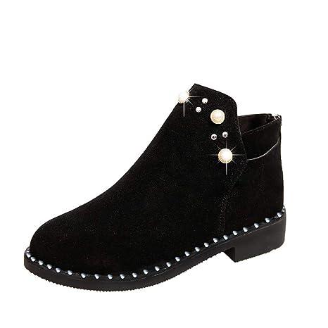 e166828db2ad0 Amazon.com: Eric Carl Women Winter Snow Boots Warm Anti-Slip Ankle ...