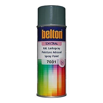 Ral 7031 Gris Bleu Mat Belton Bombe Peinture 400 Ml Bombe