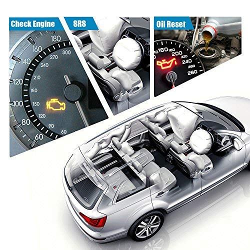 Diagnostic Scanner Tool Automotive Scanner for Land Rover & Jaguar, NEXAS  ND602 OBDII OBD2 Scanner Fault Code Reader for