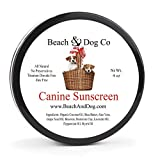 Image of Canine Sunscreen - Zinc and Titanium Dioxide Free - All Natural and Organic Formula for Dogs