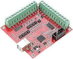 Bewinner Tarjeta Controladora CNC USB, Conexión De 4 Ejes, 4 ...