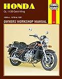 1979-1981 Honda Goldwing Gold Wing GL 1100 HAYNES REPAIR MANUAL 669