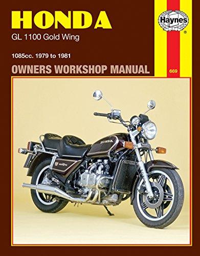 i5motorcycle Haynes Repair Manual 669 for Honda Goldwing Gold Wing GL 1100 1979-1981