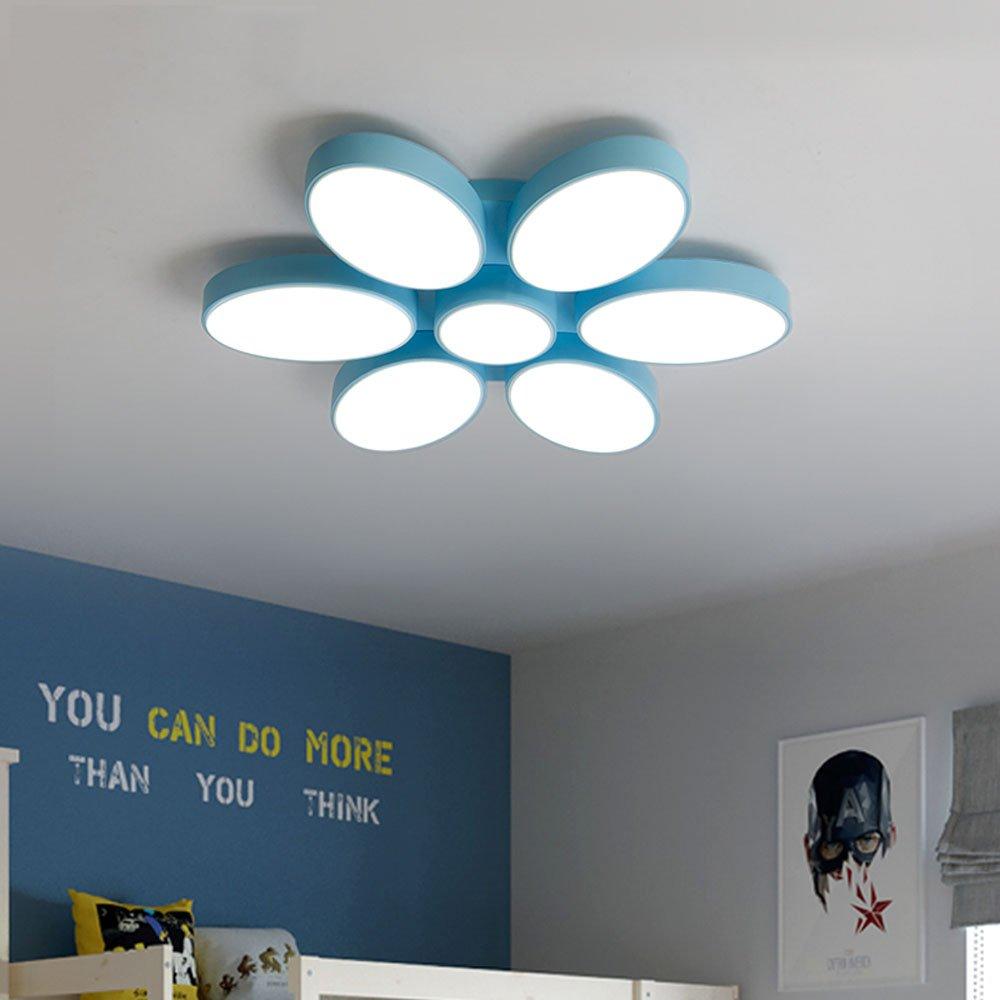 Simple Modern Bedroom Ceiling Lamp Macaron Lighting Children S Room
