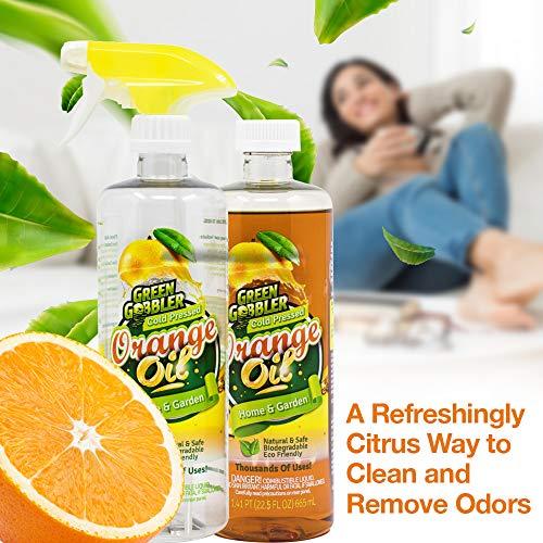 Green Gobbler All Natural Orange Oil Concentrate - 22.5 oz (D-Limonene) by Green Gobbler (Image #4)