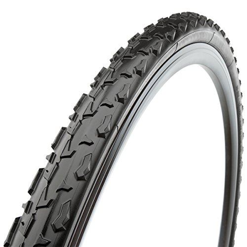 Vittoria 31 Cross XI Pro Tire, Black Fold, (700cm Wheel Size x (Cyclocross Tubular Bike Tire)