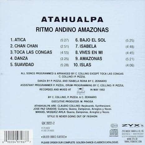 Ritmo Andino Amazonas: Atahualpa: Amazon.es: Música