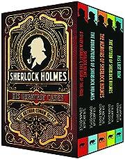 Sherlock Holmes: His Greatest Cases: 5-Volume box set edition