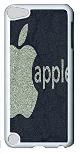 Apple Design Custom Apple iPod 5/iPod Touch 5 Case Cover Polycarbonate White