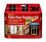 4 each: 3M Indoor Window Insulator Kit - Patio Door (2144W6)