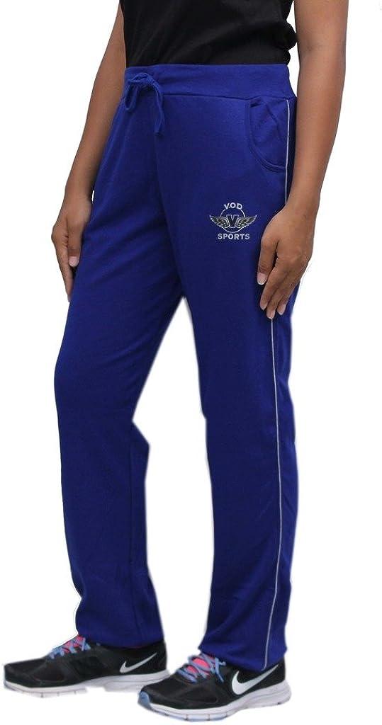 Romano Blue Womens Cotton Track Pant Romasohmroyalbluetrackpantxxl, XX-Large, Blue