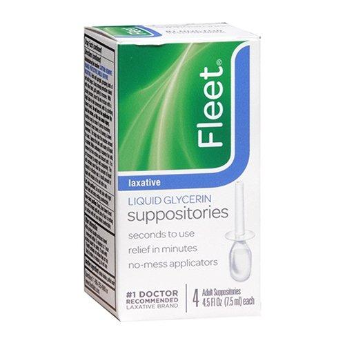 Fleet Liquid Glycerin Suppositories 4 Each