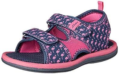Clarks Girls Frida Shoes, Blue, 9 AU