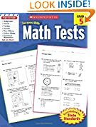 #9: Scholastic Success with Math Tests, Grade 5 (Scholastic Success with Workbooks: Tests Math)