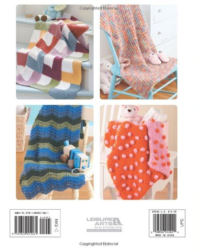 Precious Knit Blankies for Baby: 16 Fast & Fabulous Wraps designed by Jean Adel