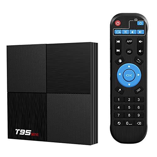 T95 Mini Android 9.0 TV Box, TUREWELL Box 2GB RAM 16GB ROM Black