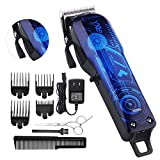 Professional Cordless Rechargeable Hair Clippers for men Beard Trimmer BESTBOMG Hair Cutting Kit