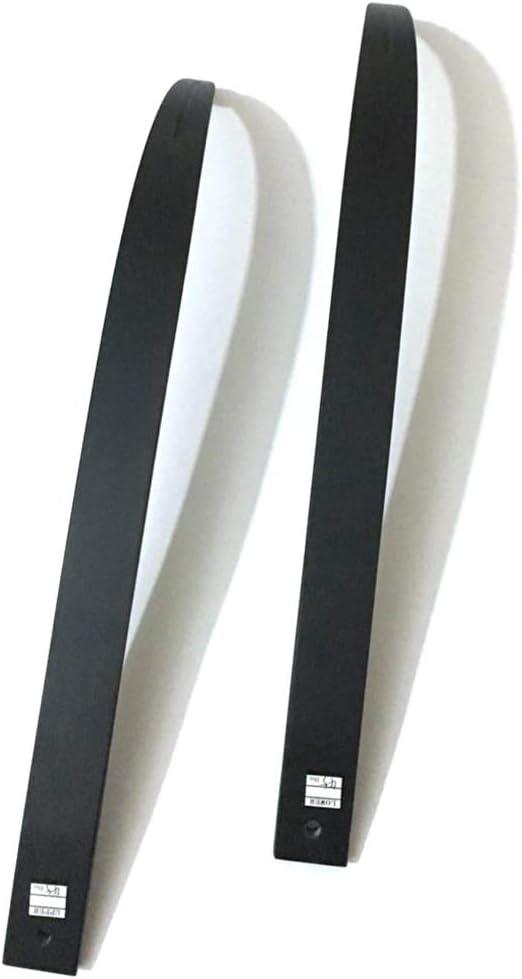 con Fibra de Vidrio y Laminado Madera de Arce ACCMOS 1 par Take Down Arco Recurvo Limbs 30-50 Libras para Arco Largo Caza
