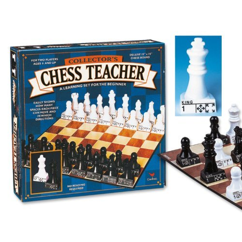 Cardinal Collector's Chess Teacher Premier Edition (Beginning Chess Board)