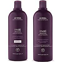 Aveda Invati Advanced Light Exfoliating Shampoo and Thickening Conditioner 33.8 oz
