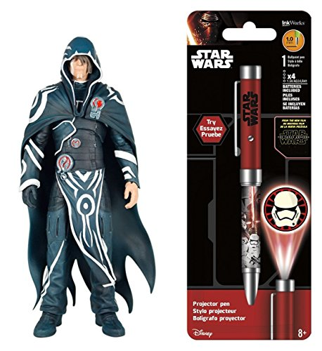 [Super Hero The Gathering -Legacy Action Figures- Jace Beleren & Free Star Wars Projector Pen, Colors may vary] (Female Action Figure Costumes)