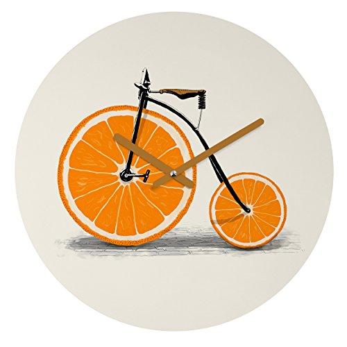 "Deny Designs Florent Bodart, Vitamin, Round Clock, Round, 12"" from Deny Designs"