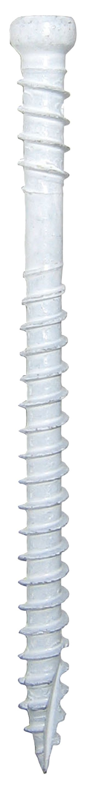 GRK 772691156327 White RT Composite Trim Head Screw Number-8 by 2-3/4-Inch Bulk Box Screw, 3000-Piece