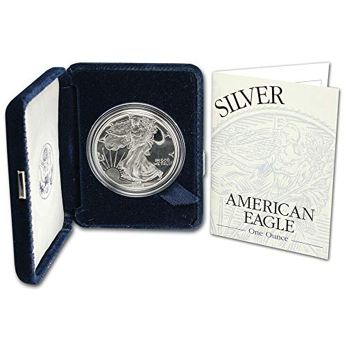 1994 P Proof American Eagle Silver Dollar with Original Packaging and COA $1 PR DCAM US Mint