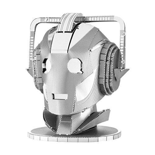 Fascinations Metal Earth Doctor Who Cyberman Head 3D Laser Cut Model -