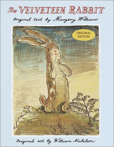 Book cover for The Velveteen Rabbit