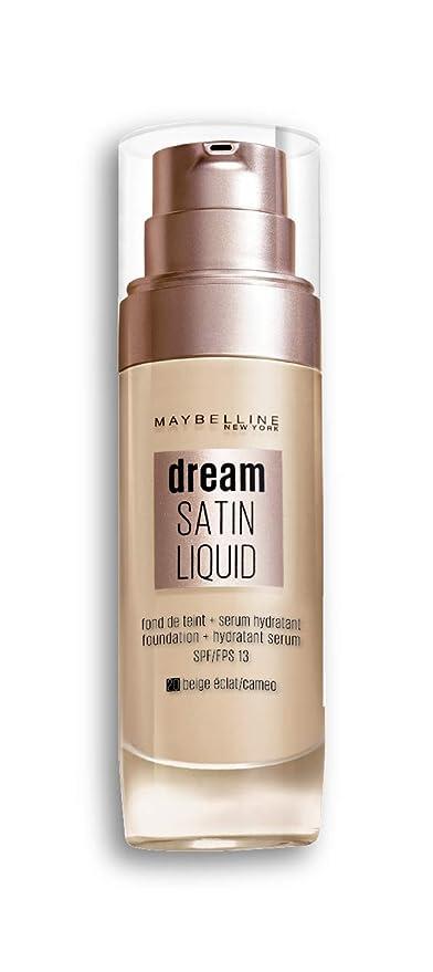Maybelline Dream Satin Liquid 20 Cameo Frasco dispensador Líquido base de maquillaje - Base de maquillaje