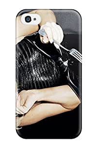 Awesome Design Lady Gaga Hard Case Cover For Iphone 4/4s