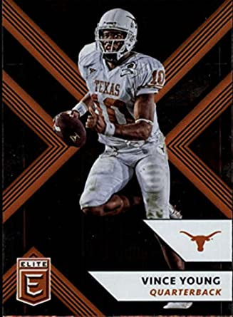 2018 Panini Elite Draft Picks 99 Vince Young Texas Longhorns Football Card