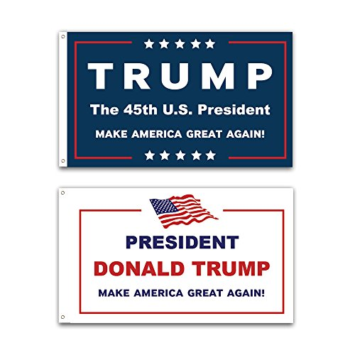 2-pack-3x5ft-commemorative-trump-flag-presidental-inauguration-donald-trump-the-45th-us-president-wh