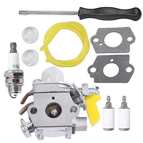 Anxingo 309368001 Carburetor for Ryobi RY09050 RY09051 RY13015 RY13050A RY34000 RY34420 RY34440 RY64400 RY13010 RY28060 26cc 30cc 4-Cycle String Trimmer RY09050 RY09051 RY64400 309368003 Carb